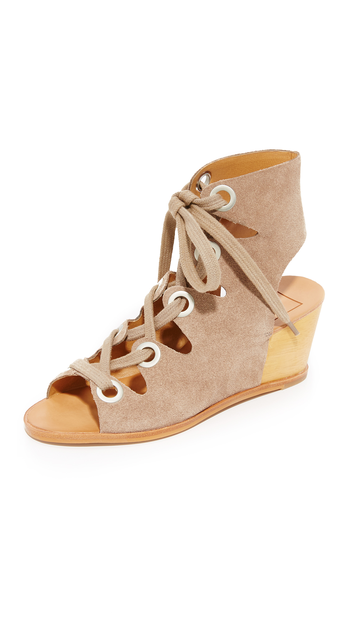 Dolce Vita Lei Wedges - Taupe at Shopbop