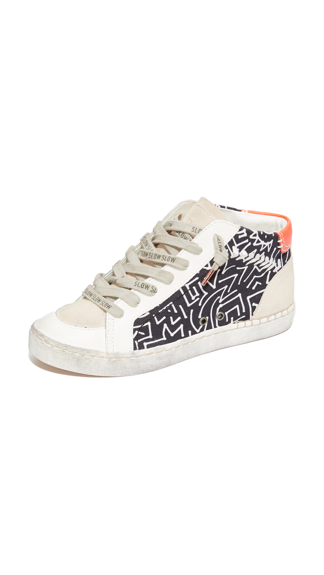 Dolce Vita Zane Special Collection High Top Sneakers - Black Multi at Shopbop