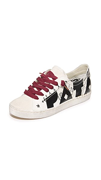 Dolce Vita Z-Pata Special Collection Low Sneakers - White Multi