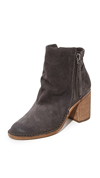 Dolce Vita Lana Booties - Anthracite at Shopbop