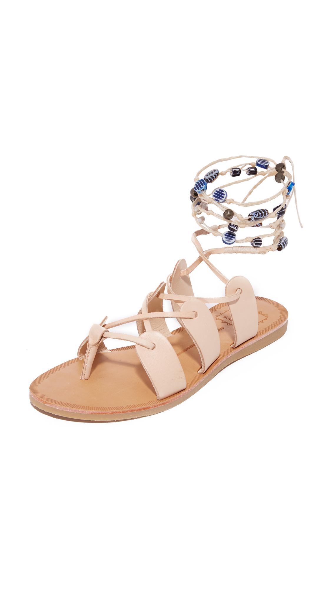 Dolce Vita Jalen Gladiator Sandals - Nude at Shopbop