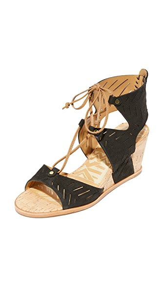 Dolce Vita Langly Wedges - Black