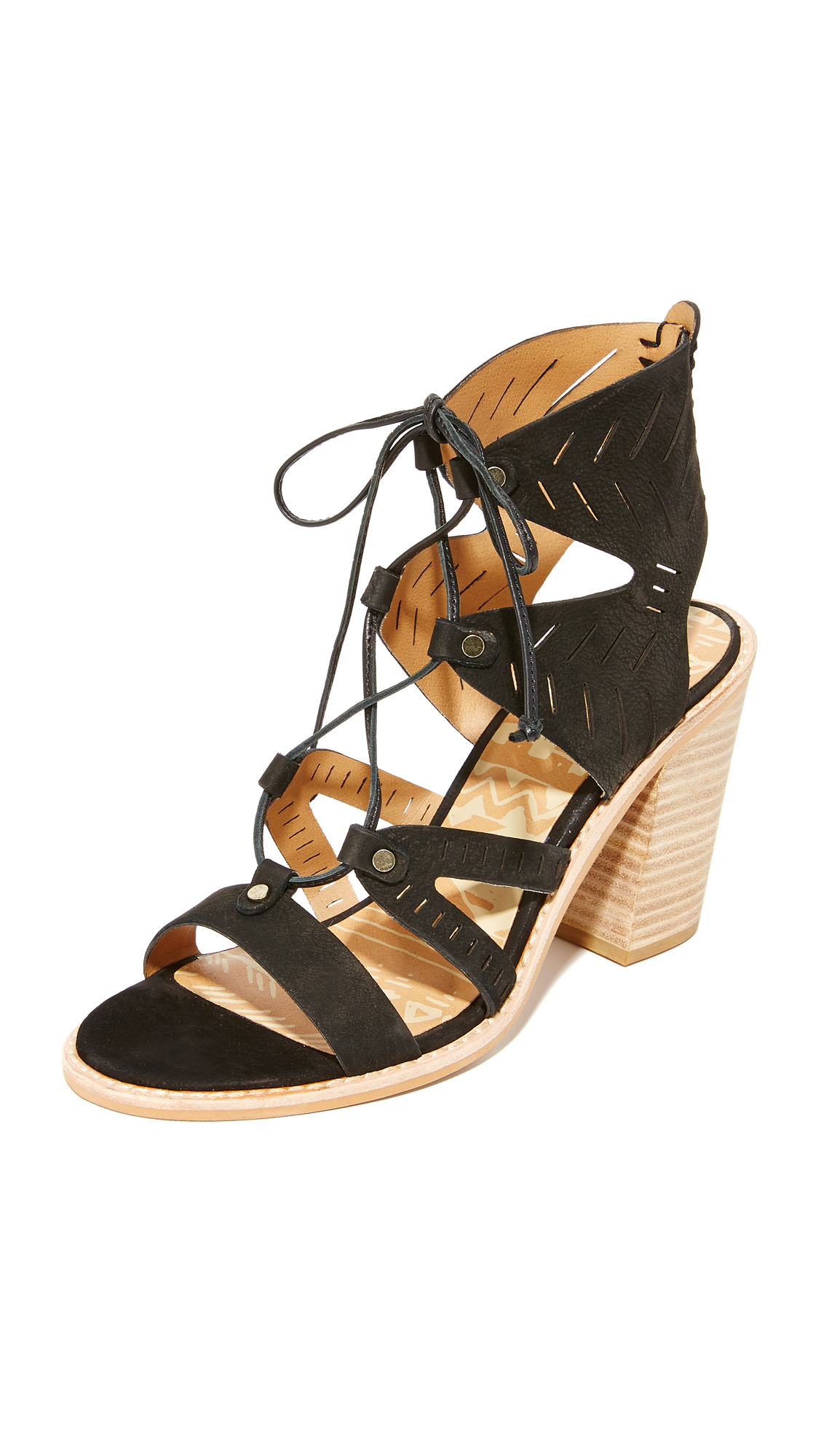 Dolce Vita Luci Sandals - Black at Shopbop