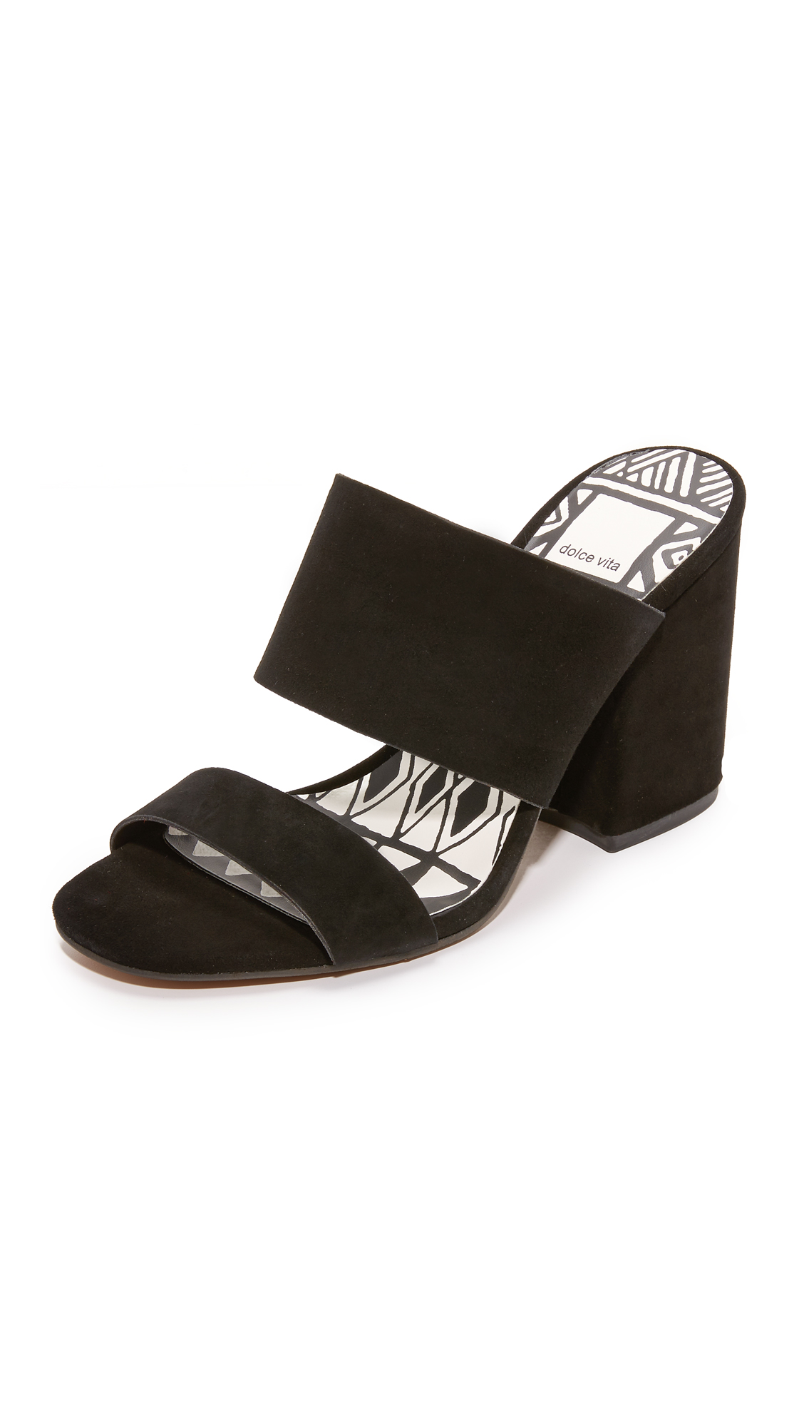 Dolce Vita Elize Mules - Black at Shopbop