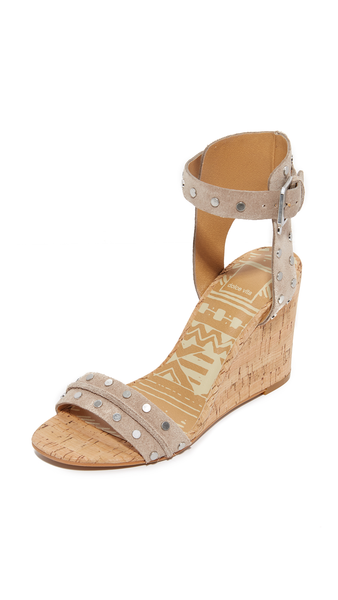 Dolce Vita Dante Wedges - Taupe