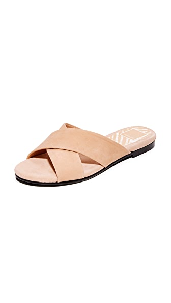 Dolce Vita Karlo Slide Sandals - Blush