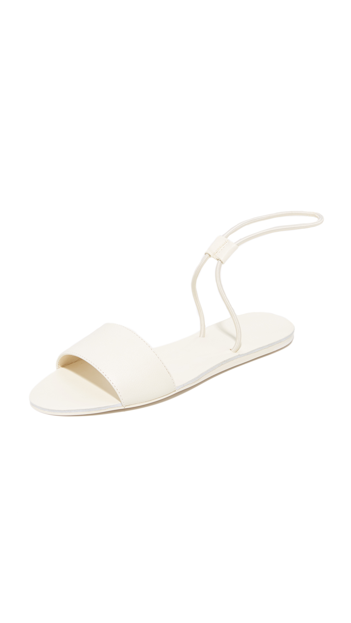 Dolce Vita Dara Elastic Sandals - Off White