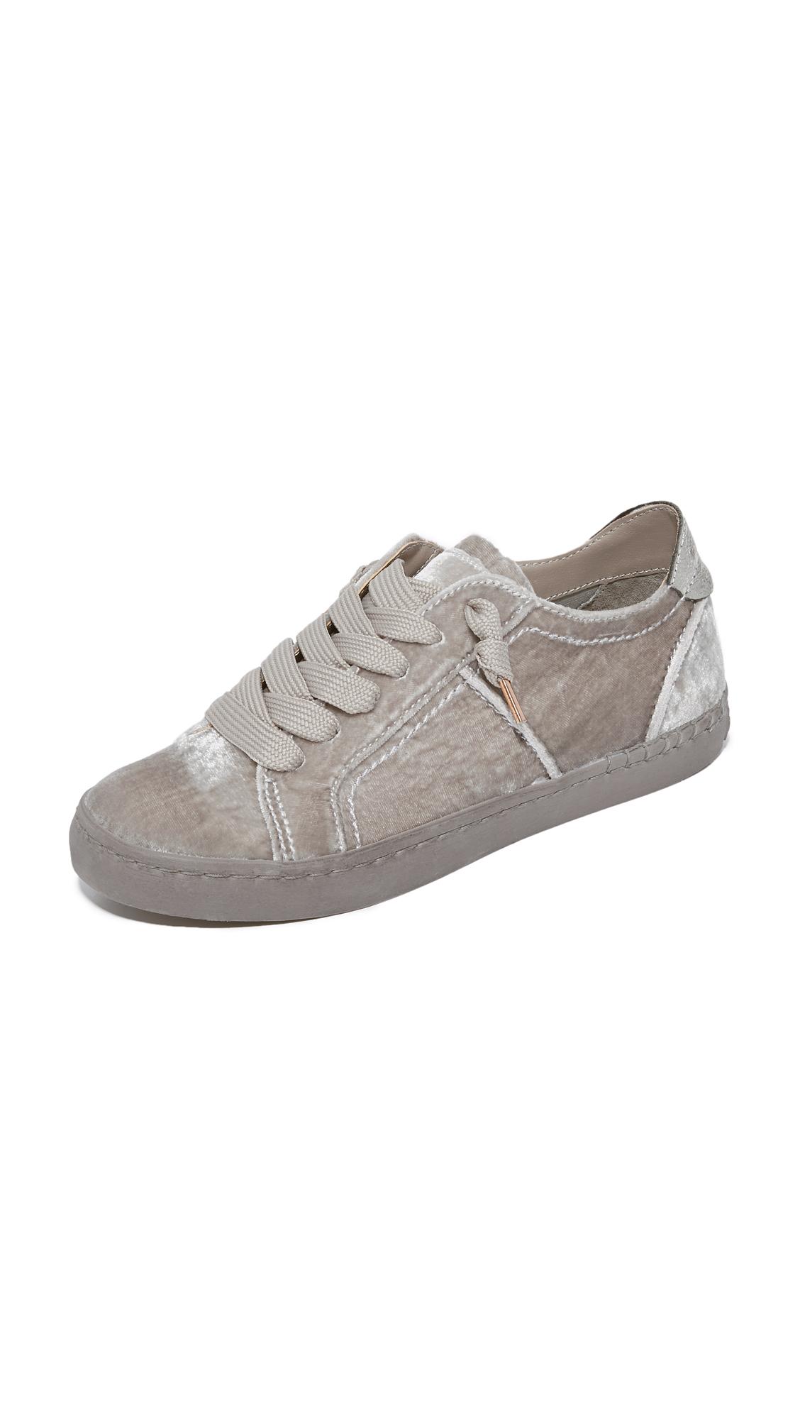 Dolce Vita Zalen Velvet Sneakers - Mink at Shopbop