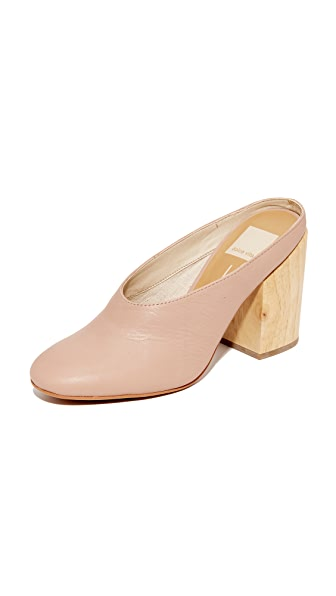 Dolce Vita Caley Mules - Blush