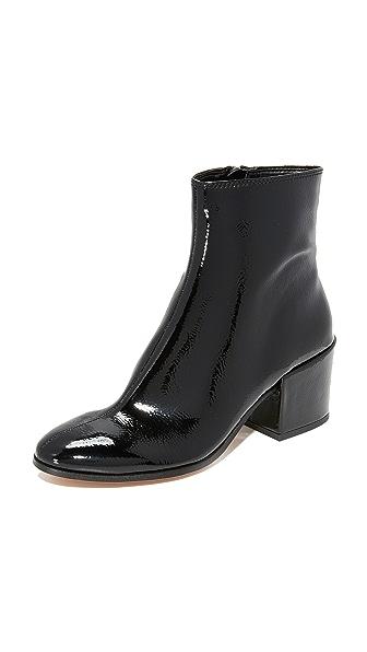 Dolce Vita Maude Patent Booties - Black