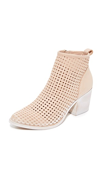 Dolce Vita Kenyon Perforated Booties - Sand