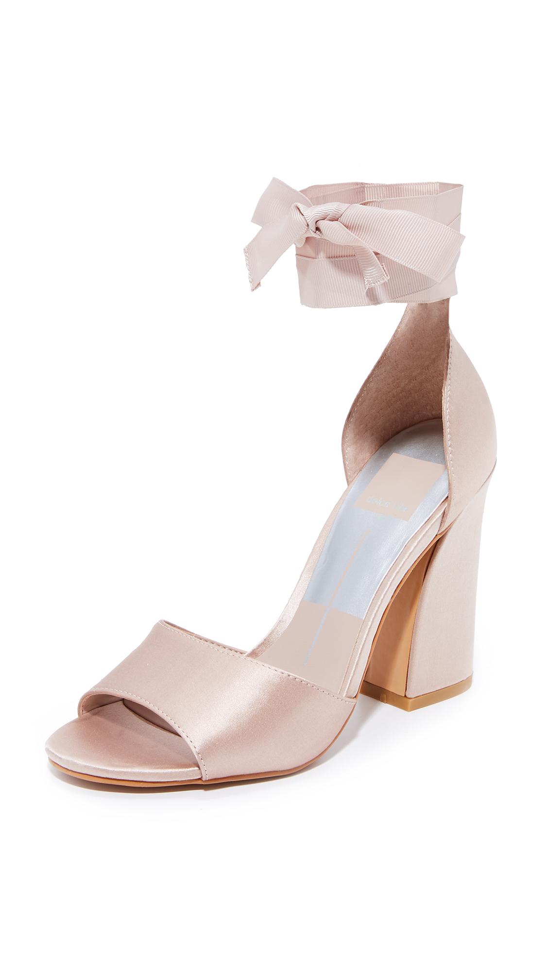 Dolce Vita Harvey Wrap Sandals - Rose