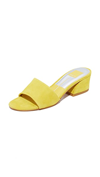 Dolce Vita Rilee Slides - Yellow