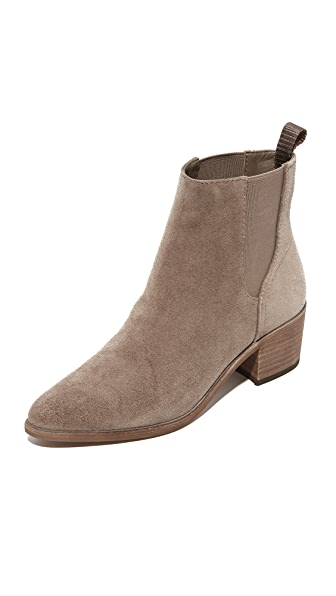 Dolce Vita Colb Chelsea Booties In Dark Taupe