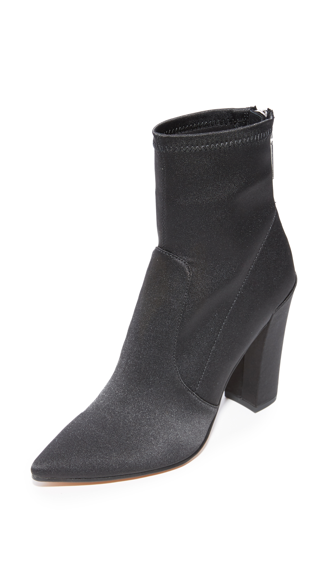 Dolce Vita Elana Stretch Booties - Onyx