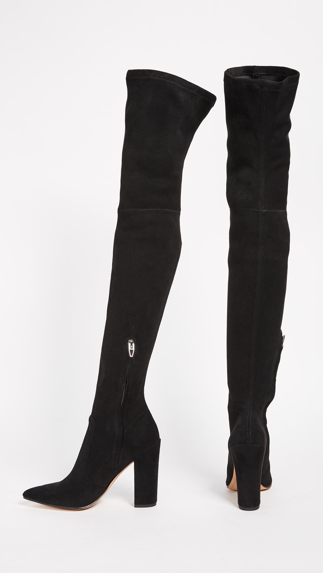 e766dbfb6d8 Dolce Vita Ellis Thigh High Stretch Boots
