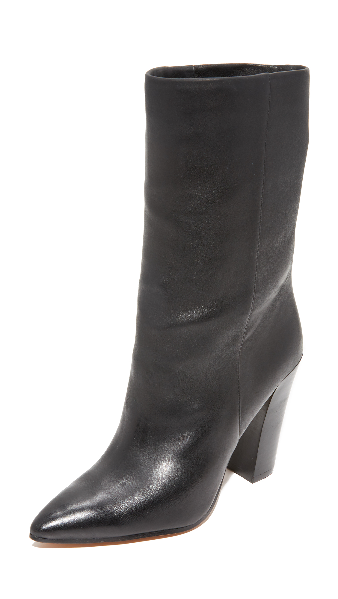 Dolce Vita Ethan Mid Calf Boots - Black