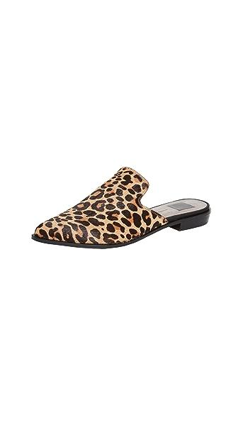 Dolce Vita Holli Mules In Leopard
