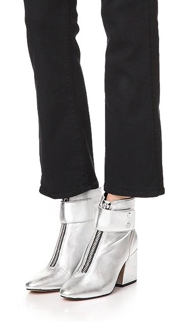 Dolce Vita Varra Front Zip Booties