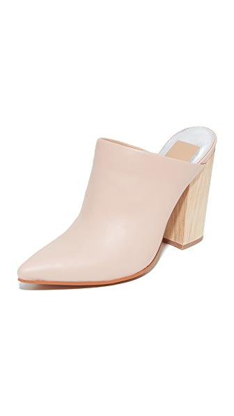 Dolce Vita Enyo Mule Pumps - Blush