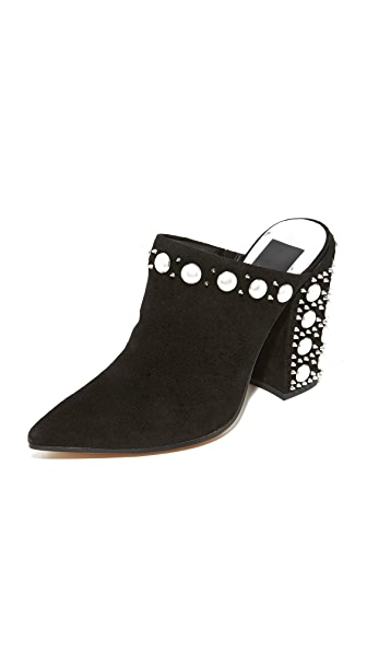 Dolce Vita Eon Mule Pumps - Black