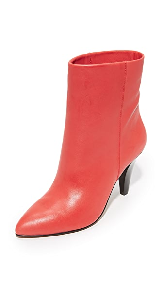 Dolce Vita Loxen Booties - Red