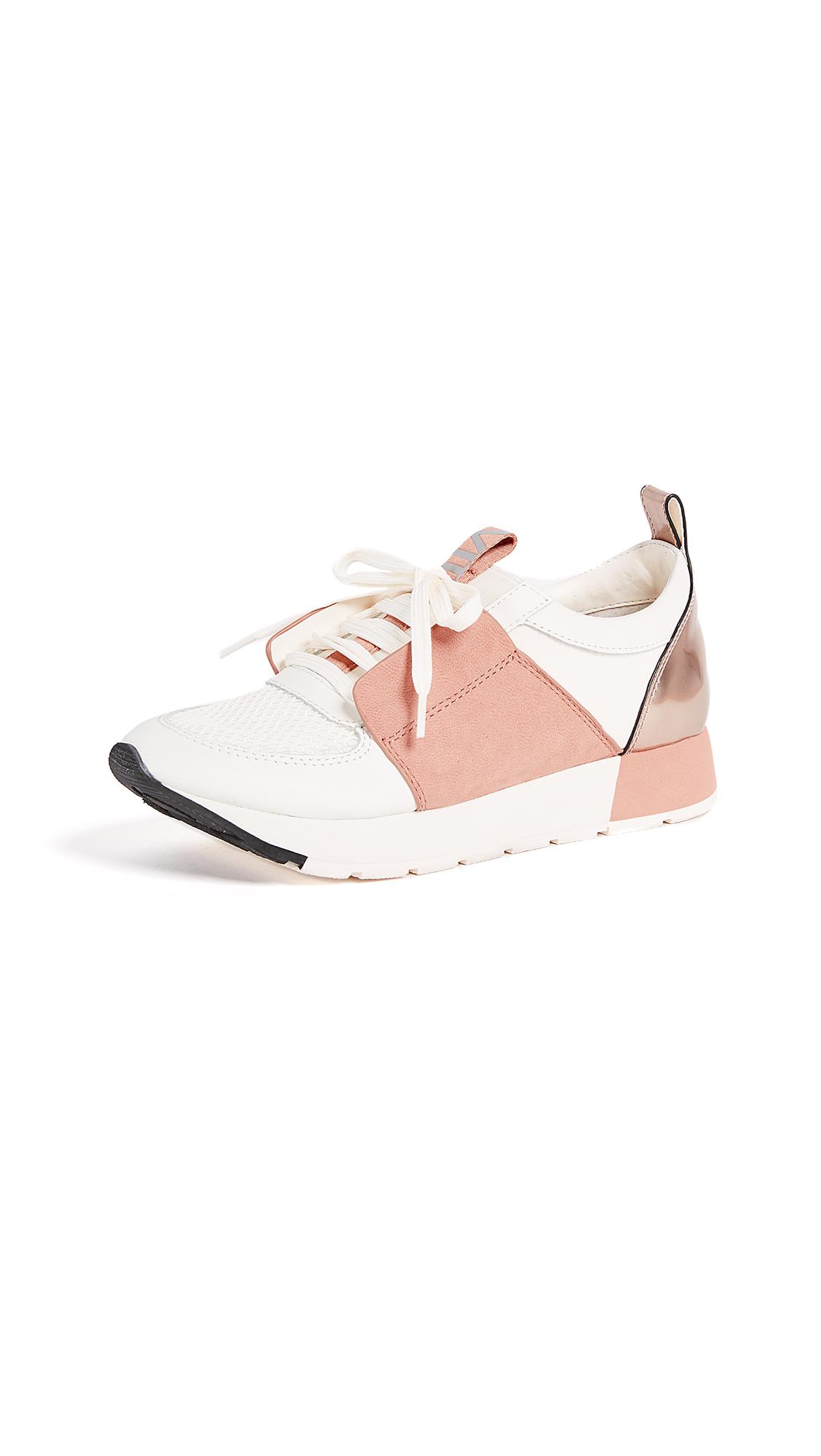 Dolce Vita Yana Colorblock Sneakers - White/Nude