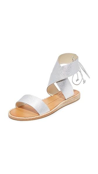 Dolce Vita Pomona Sandals In Silver
