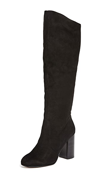 Dolce Vita Rhea Boots In Black