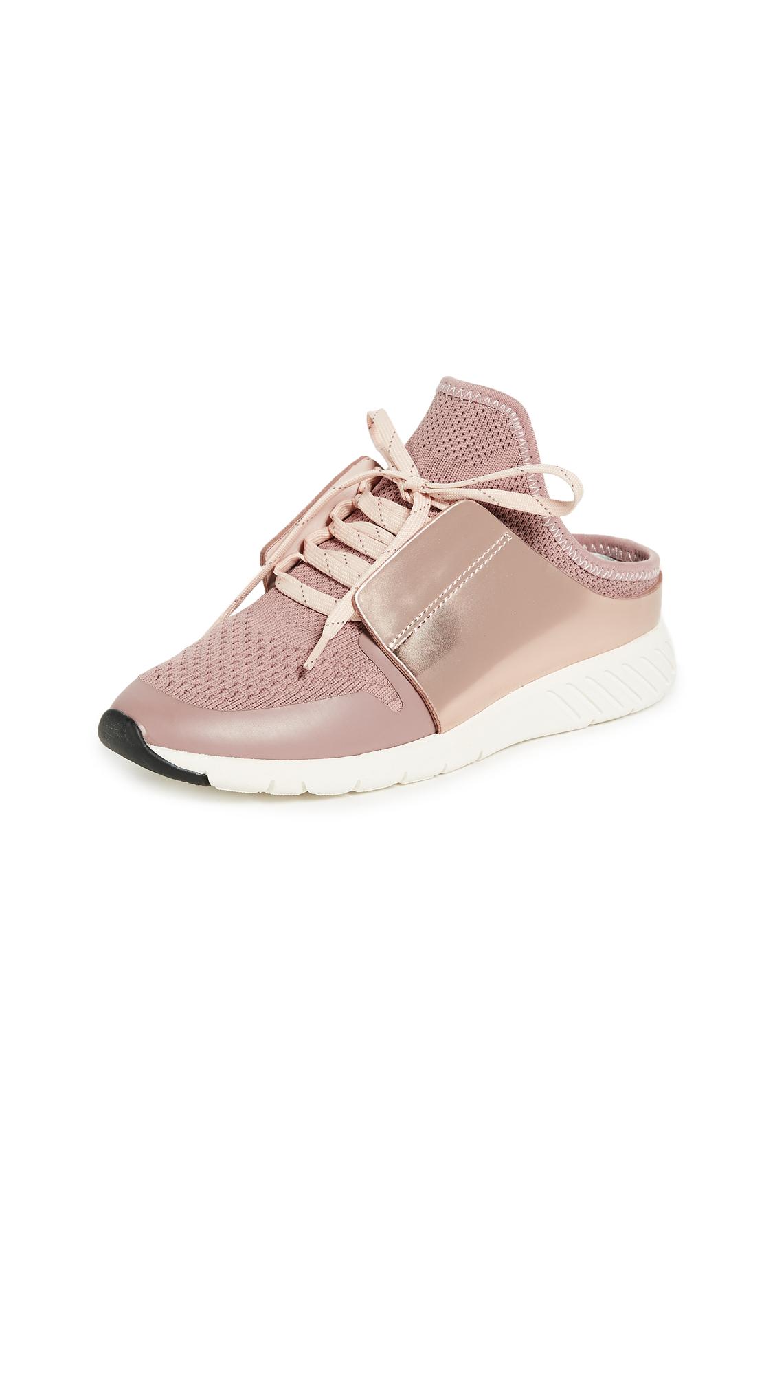 Dolce Vita Braun Mule Sneakers - Rose Gold