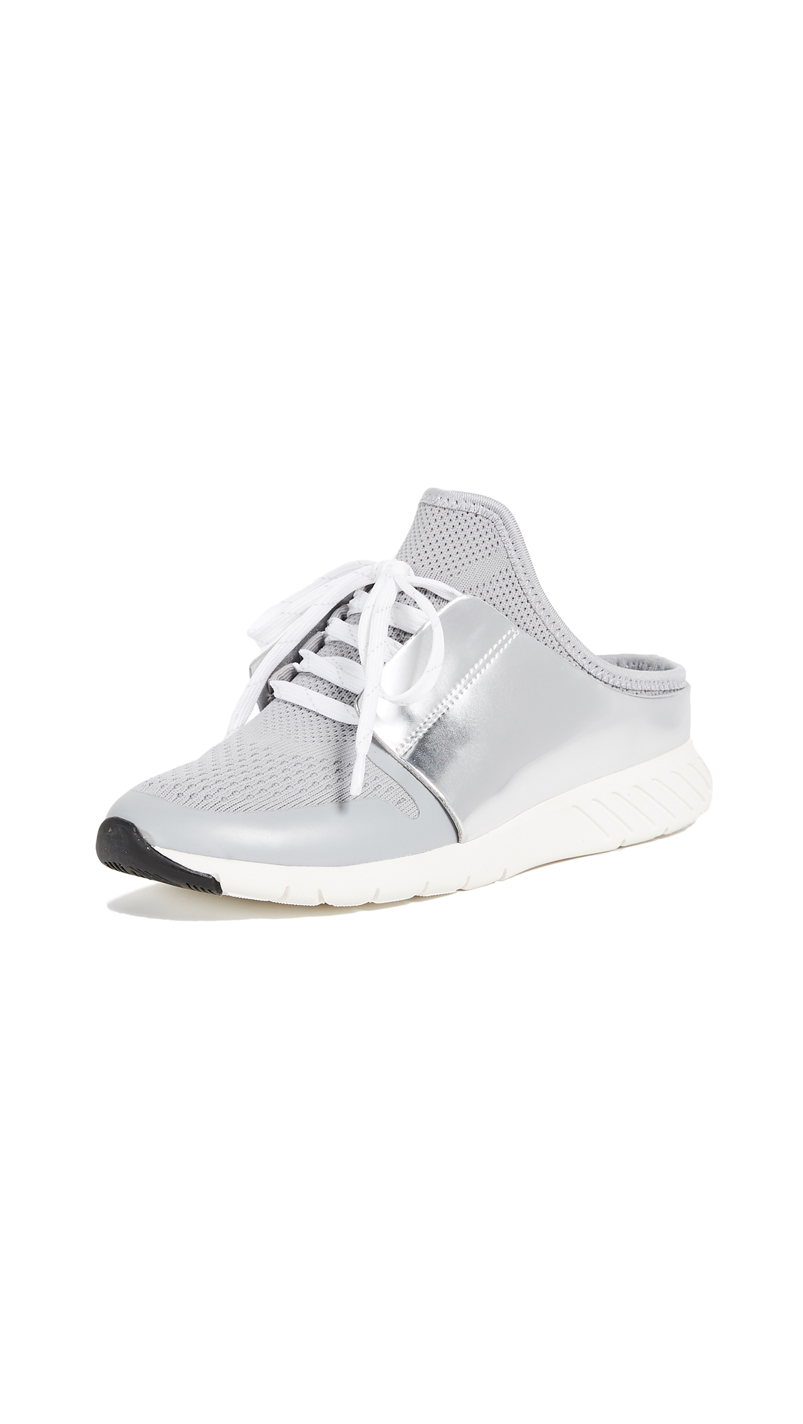 Dolce Vita Braun Mule Sneakers - Silver