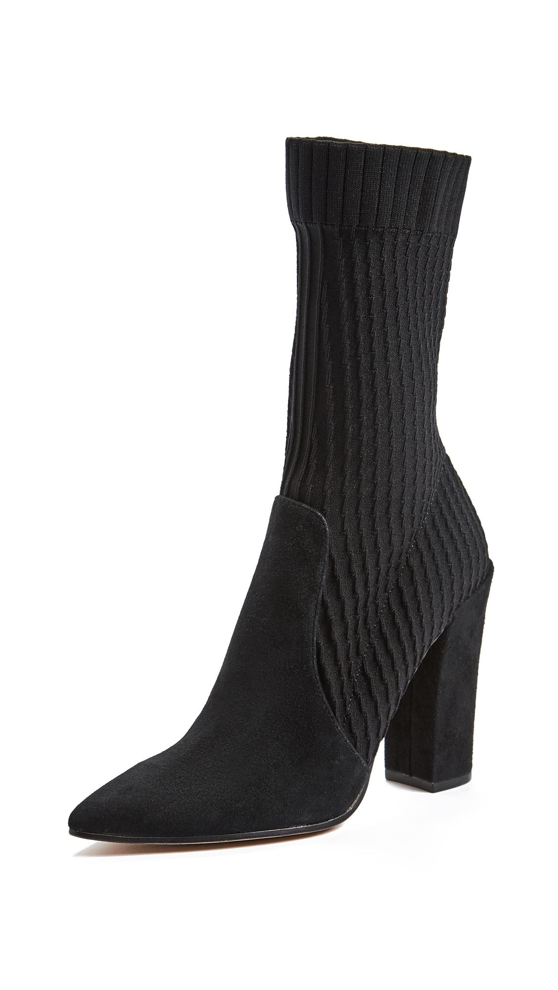 Dolce Vita Elon Sock Boots - Black