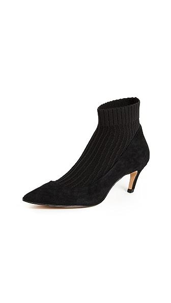 Dolce Vita Nyke Booties In Black
