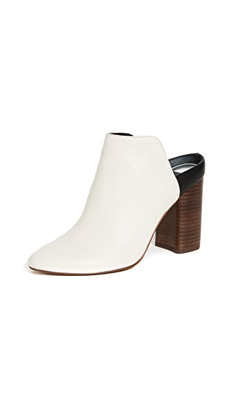 Dolce Vita Renly Backless Mules In Off White