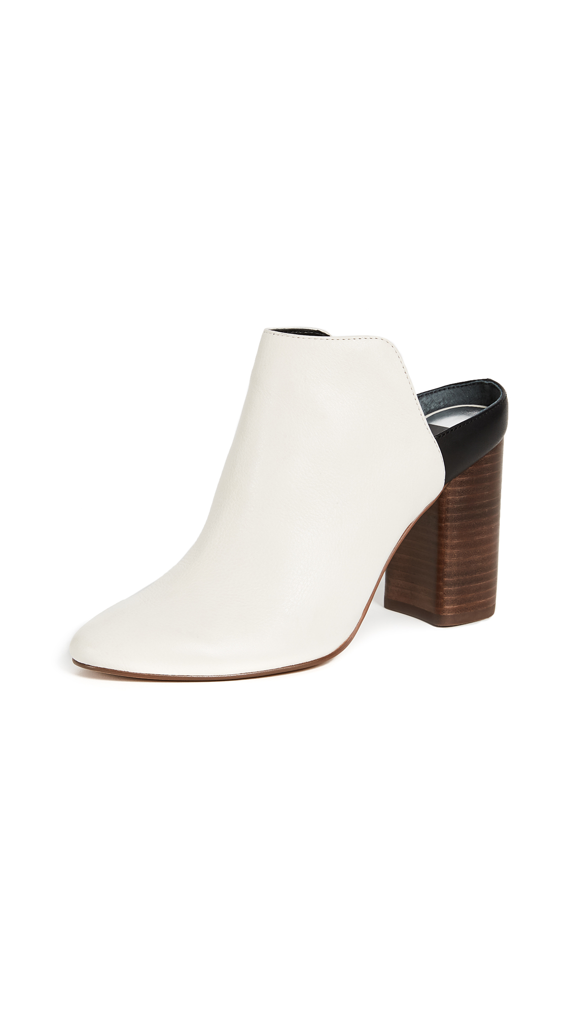 Dolce Vita Renly Backless Mules - Off White