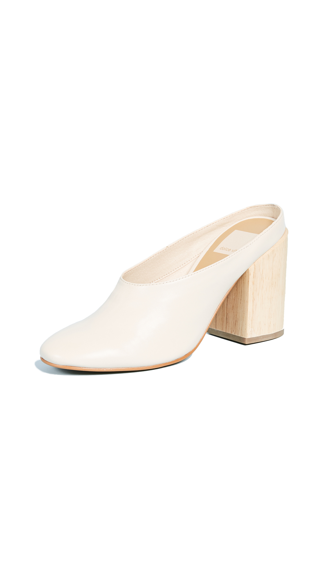 Dolce Vita Caley Mules - Ivory