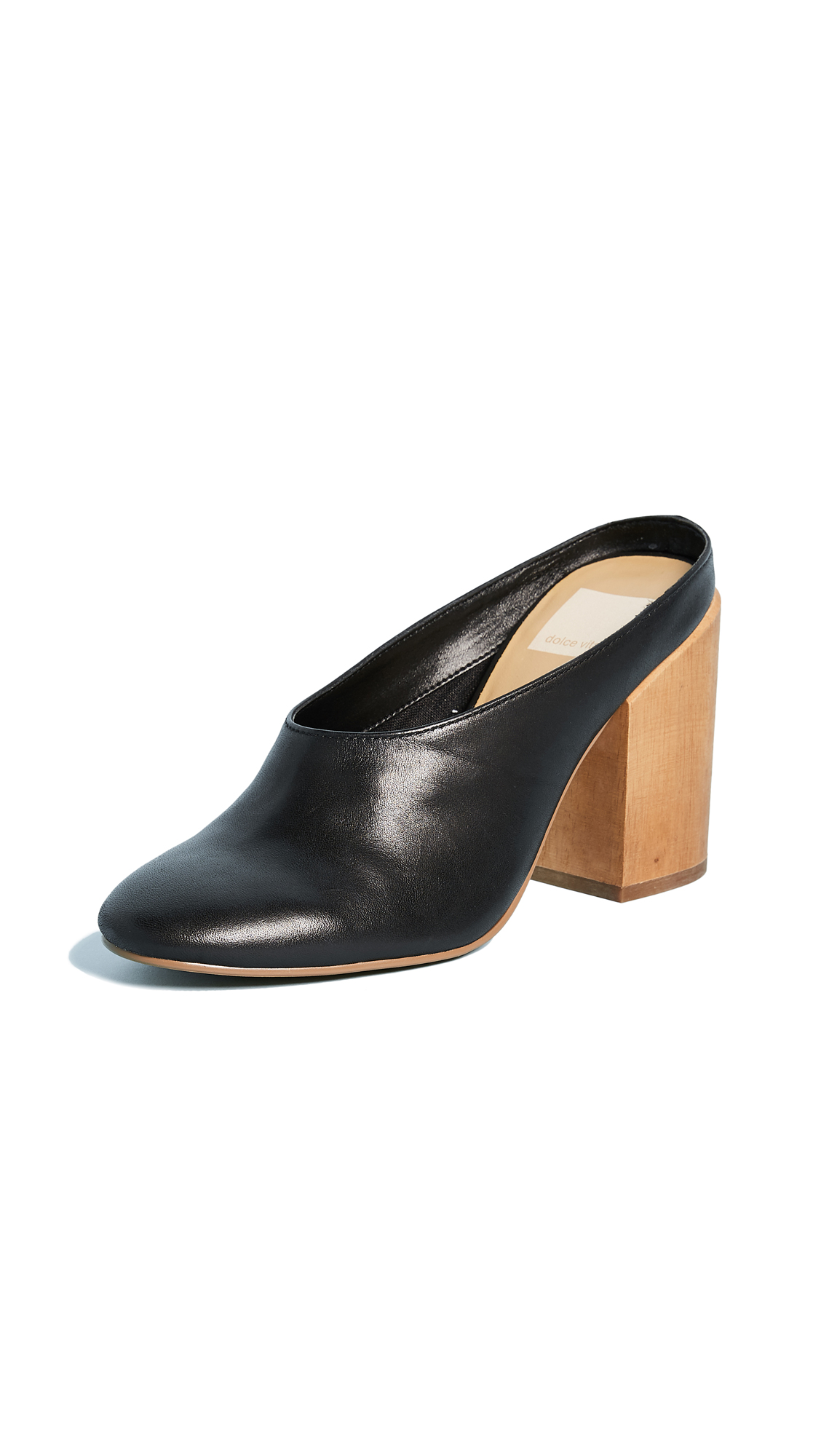 Dolce Vita Caley Mules - Black