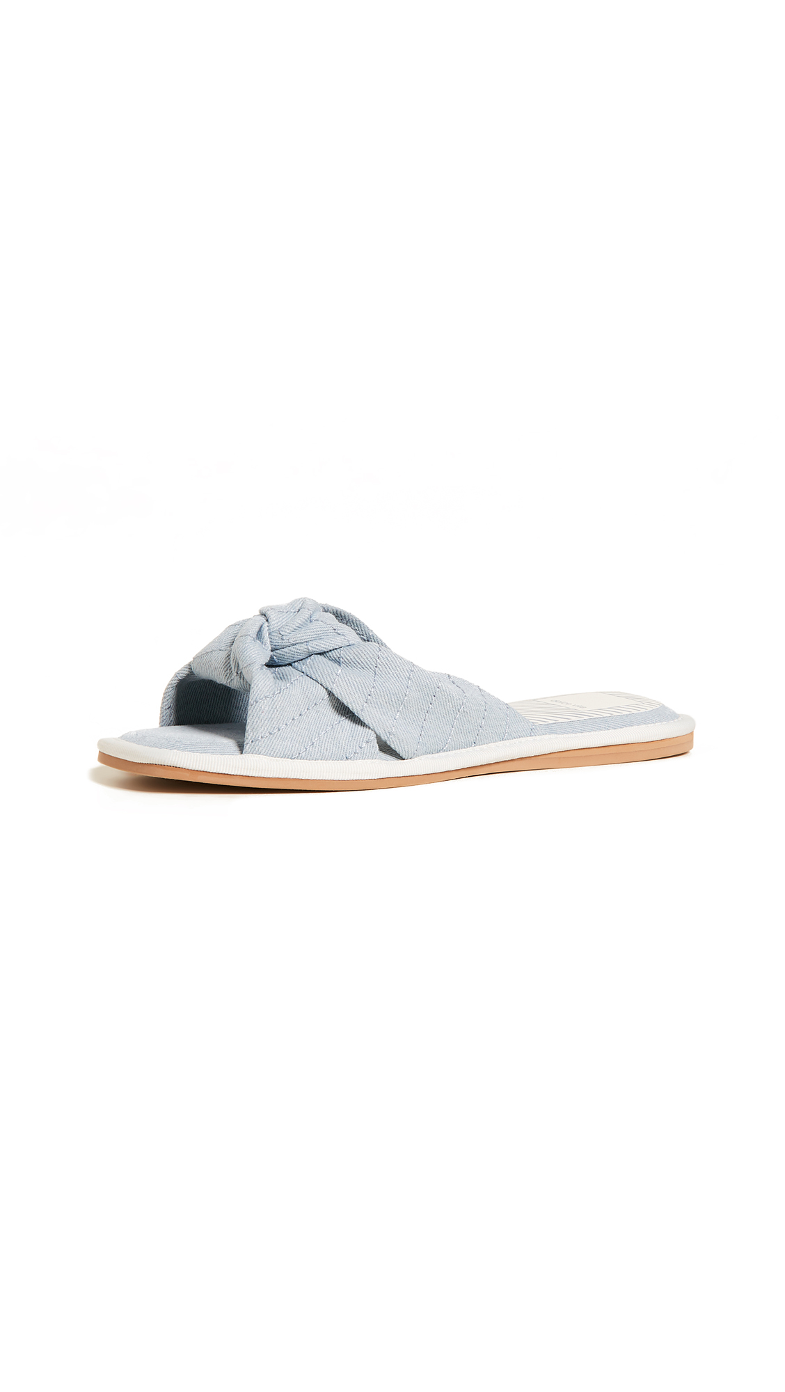 Dolce Vita Halle Slides - Light Blue