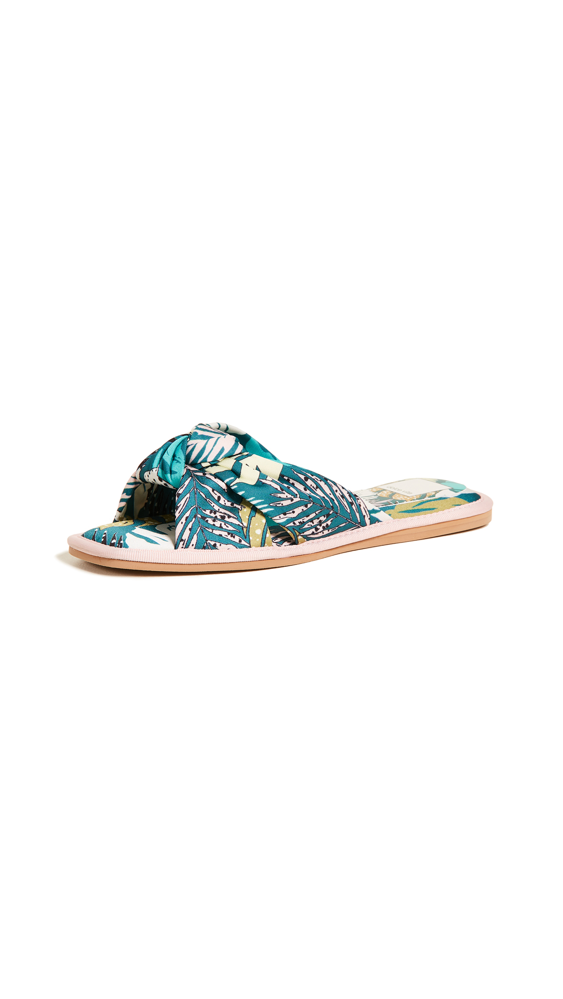 Dolce Vita Halle Slides In Green