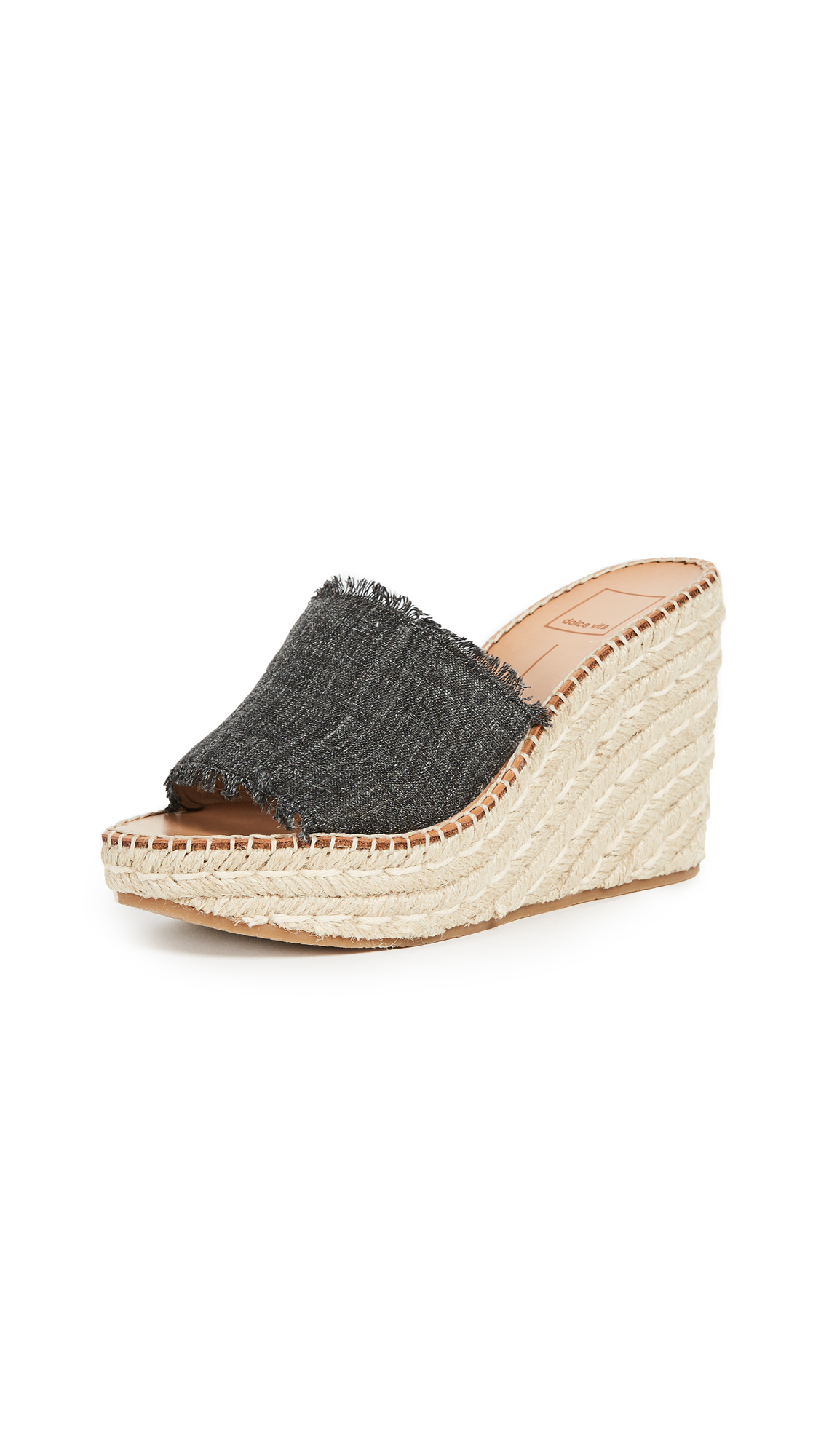 Dolce Vita Pim Wedge Sandals - Ash