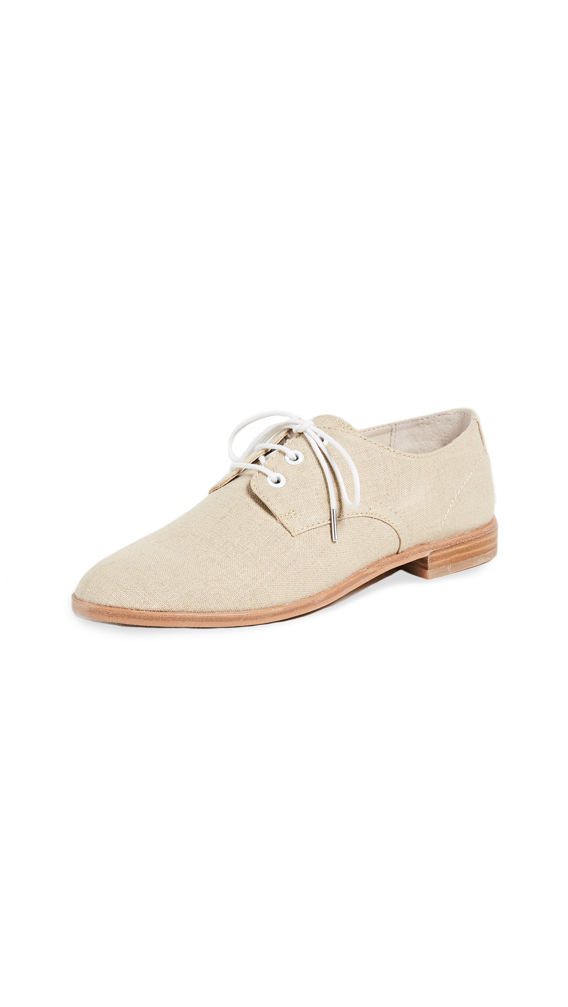 Dolce Vita Pixyl Lace Up Oxfords - Natural Multi