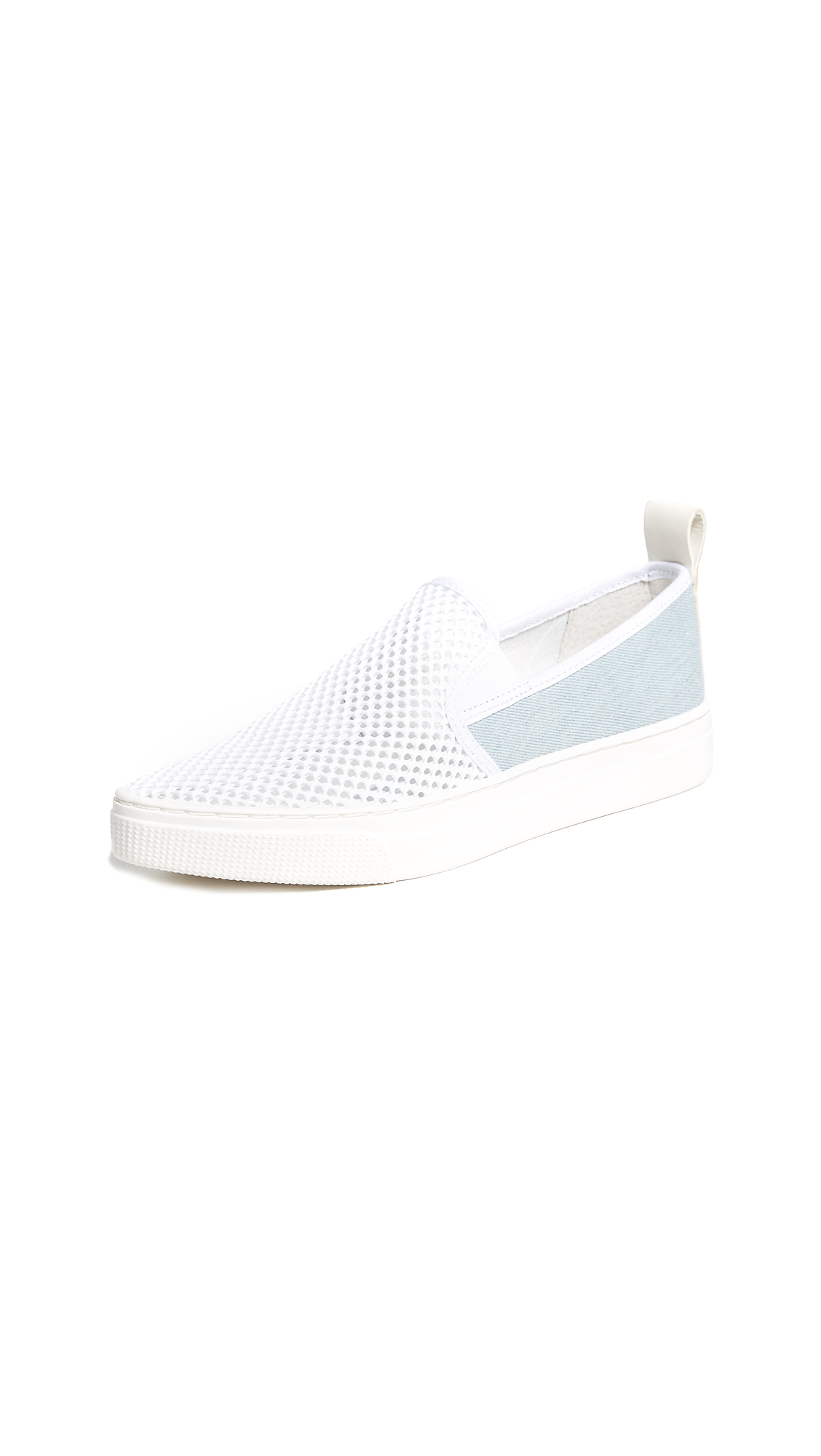 Dolce Vita Geoff Woven Sneakers - White