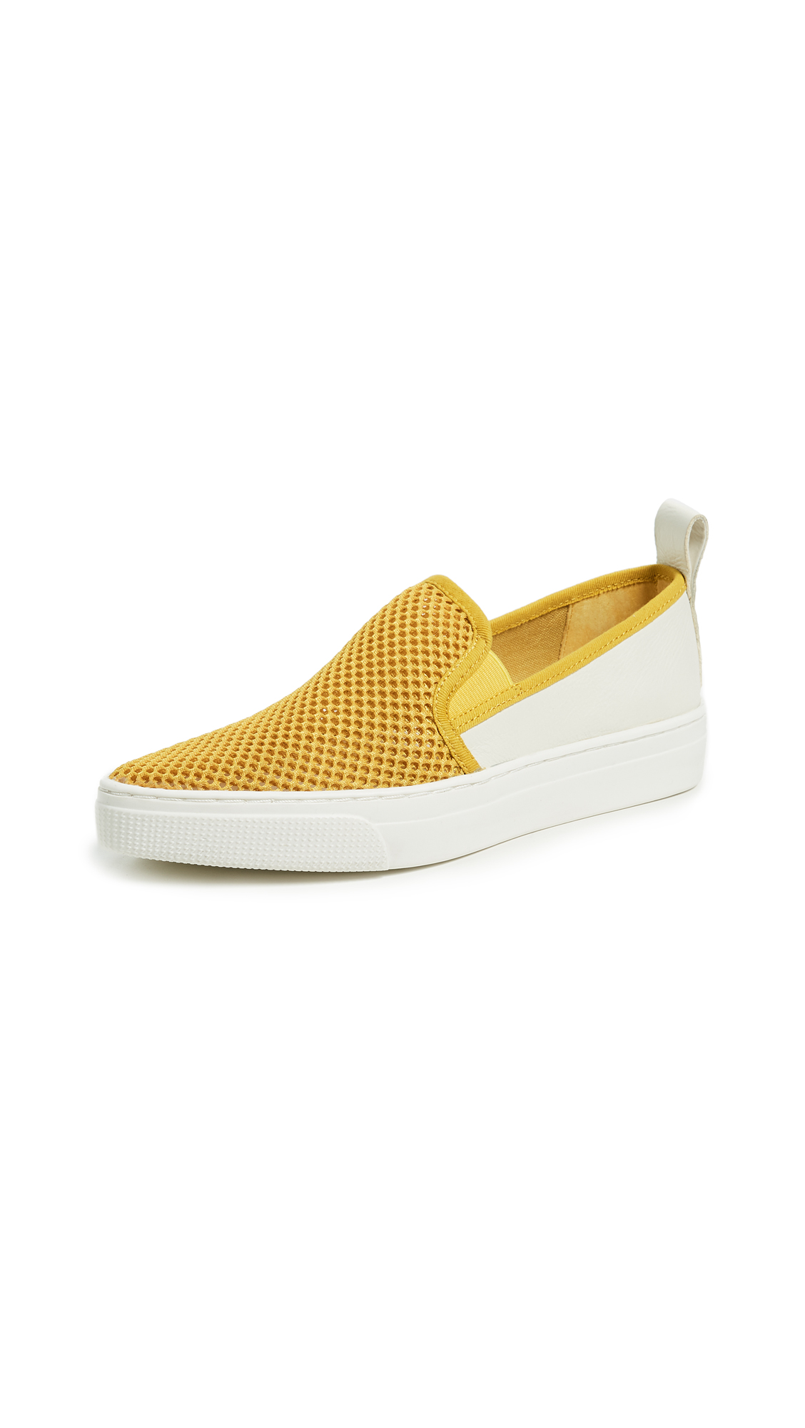 Dolce Vita Geoff Woven Sneakers - Yellow