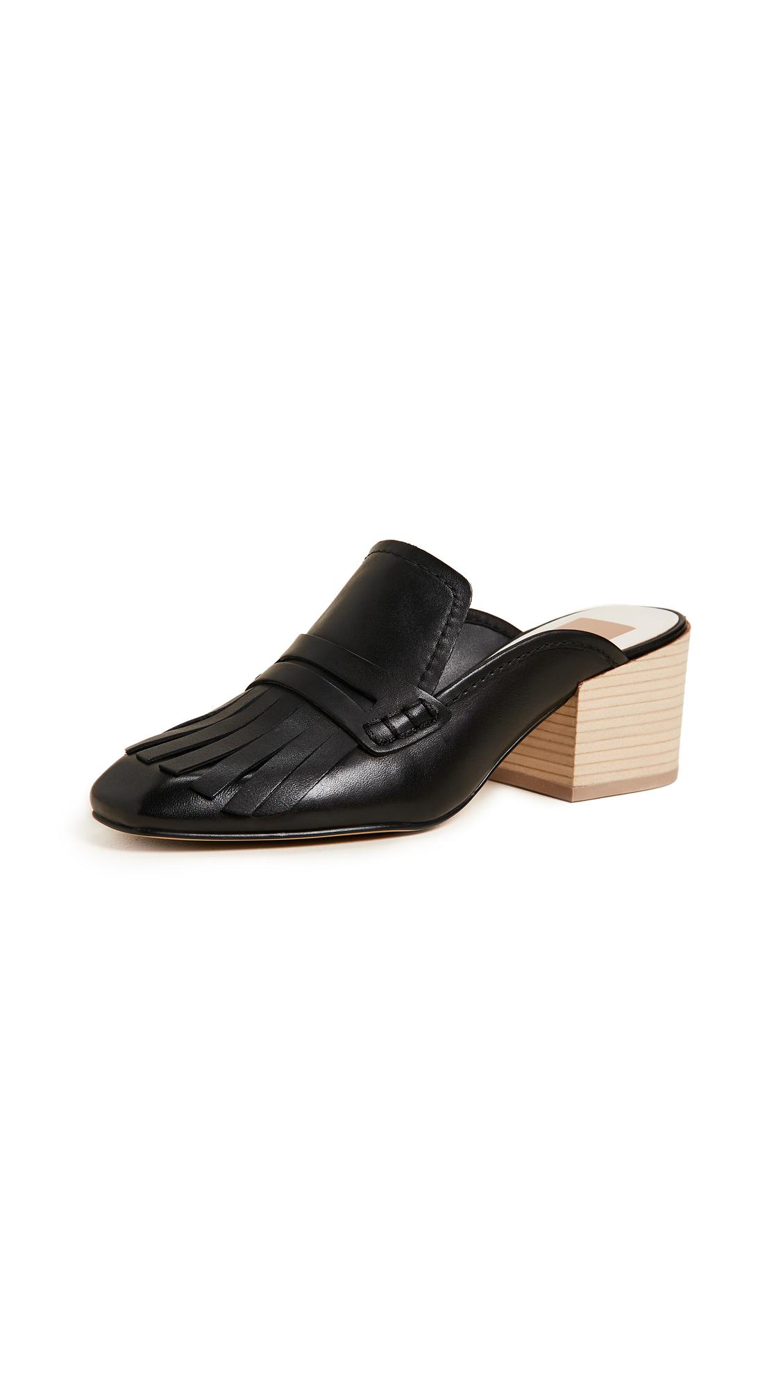Dolce Vita Katina Block Heel Pumps - Black