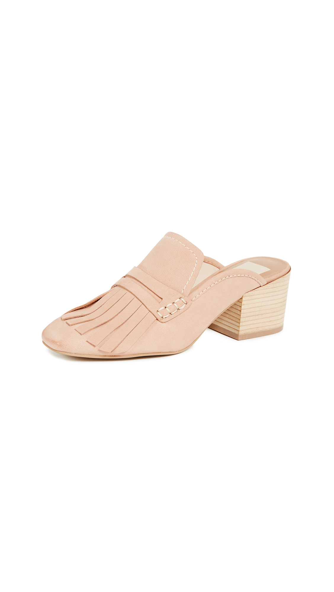 Dolce Vita Katina Block Heel Pumps - Natural