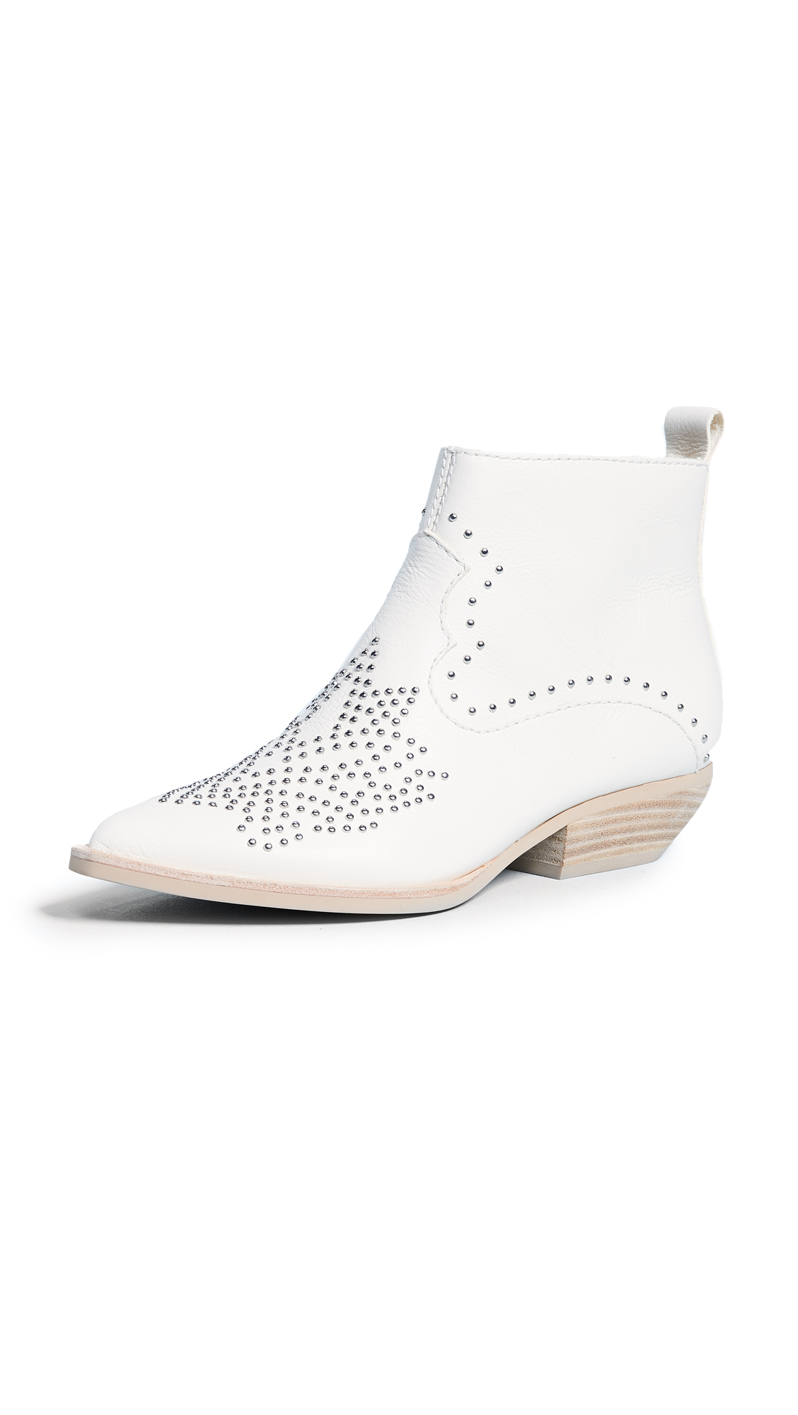 Dolce Vita Uma Western Booties - Off White