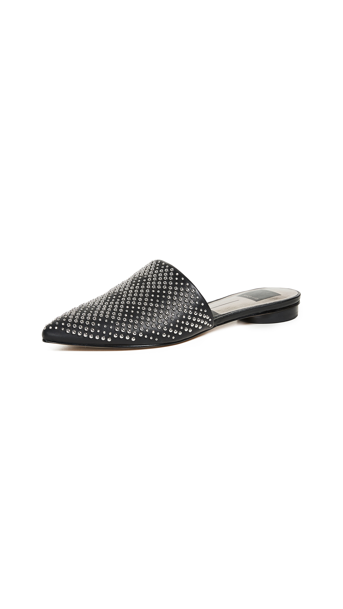 Dolce Vita Elvah Point Toe Mules - Black