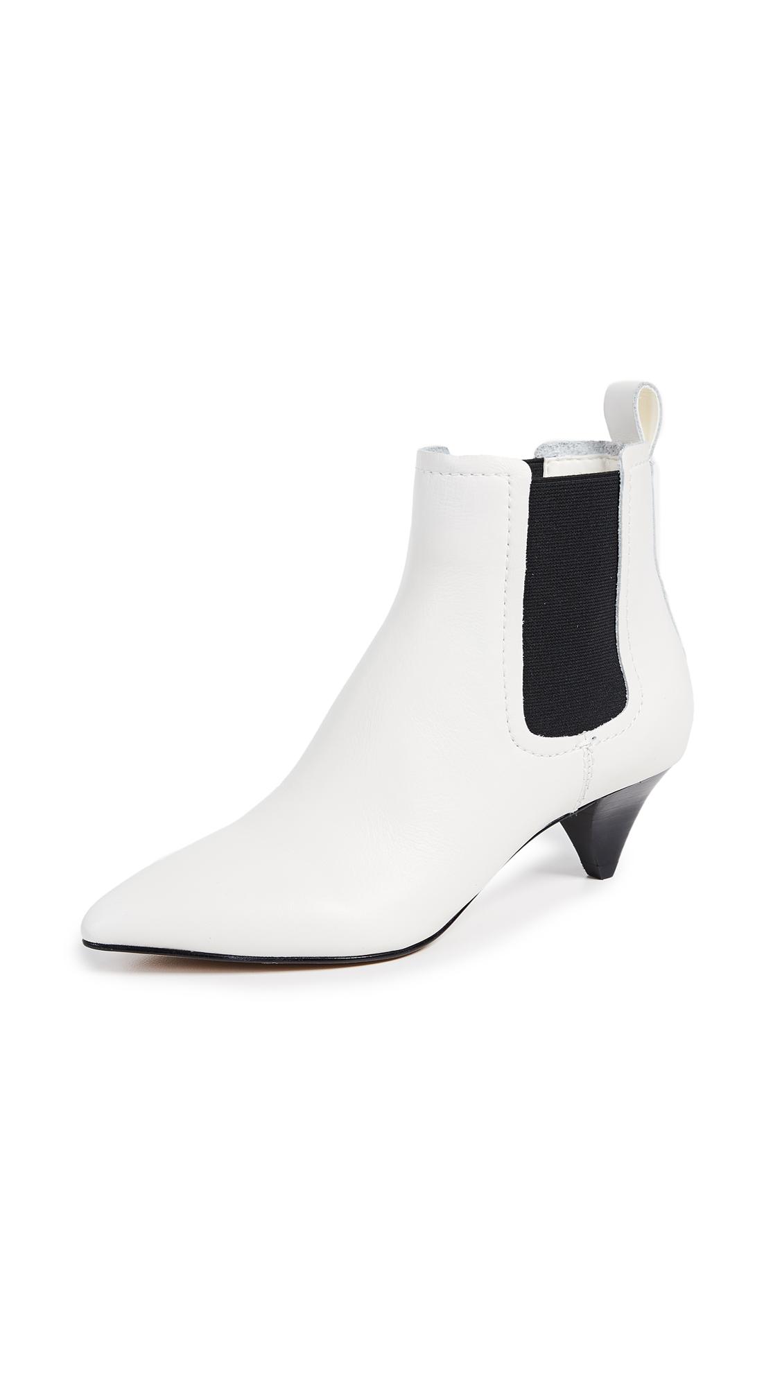 Dolce Vita Yorona Booties - Off White