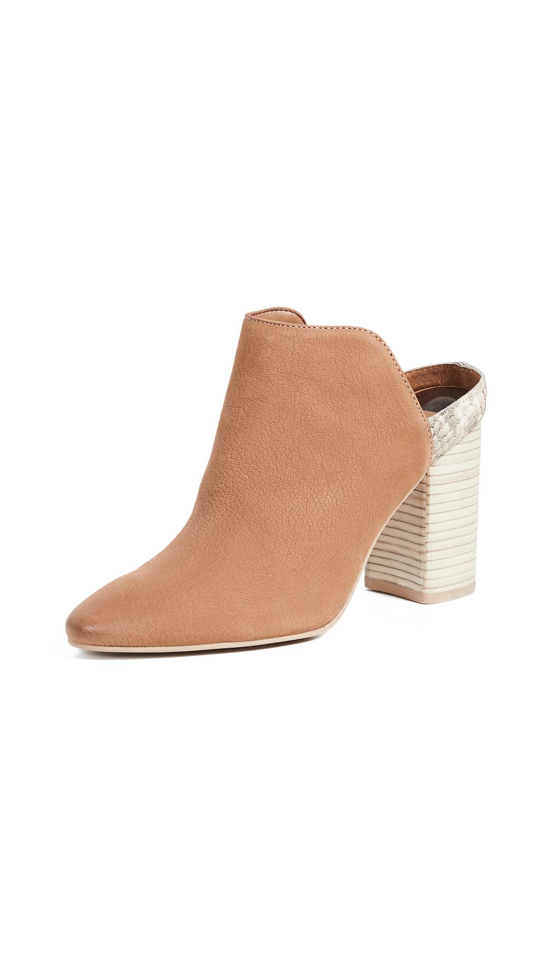 Dolce Vita Renly Block Heel Mules - Tan