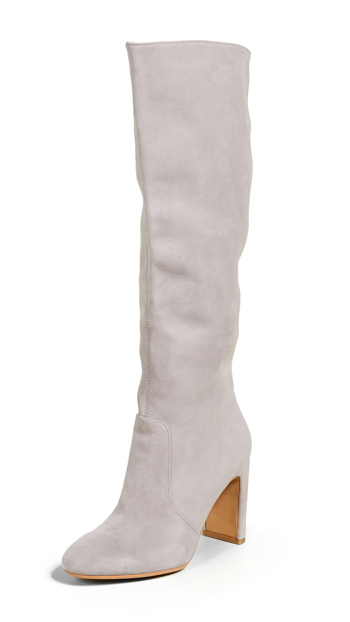 Dolce Vita Coop Tall Boots In Smoke